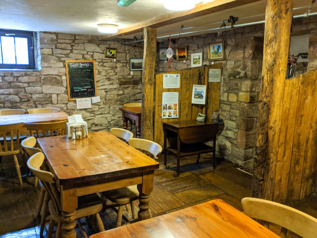 The stable room cafe at Blaze Farm
