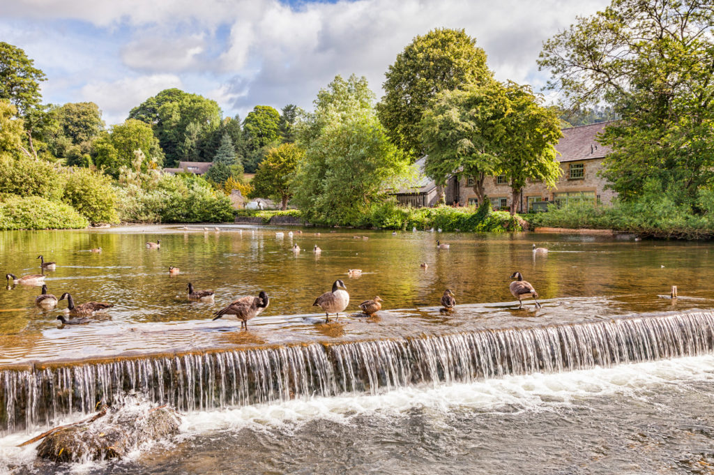 river at Bakewell