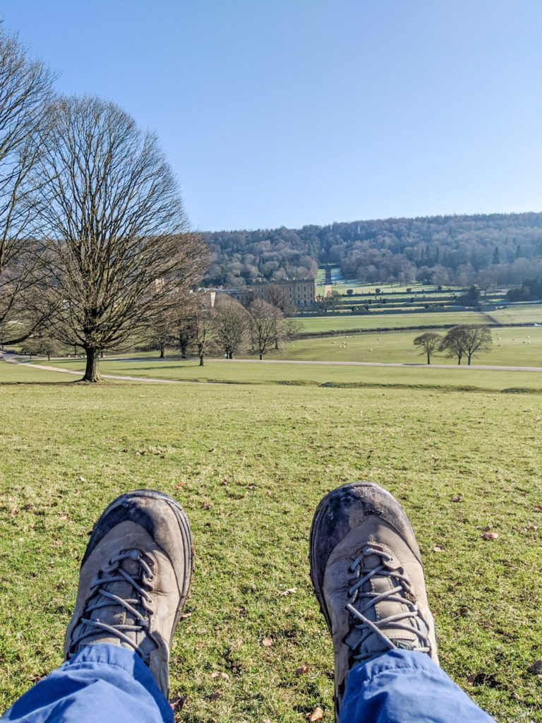 Chatsworth buggy friendly walk